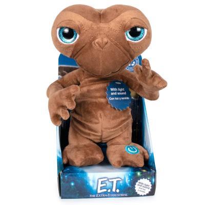 Peluche Ingles E.T. El Extraterrestre luz y sonido 25cm - Imagen 1