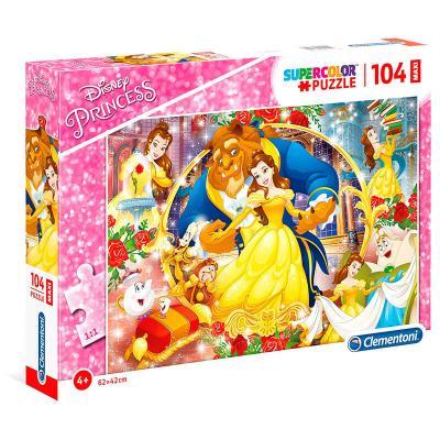 Puzzle Maxi Bella y Bestia Disney 104pzs - Imagen 1