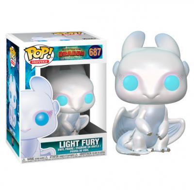 POP figure How to Train your Dragon 3 Light Fury - Imagen 1