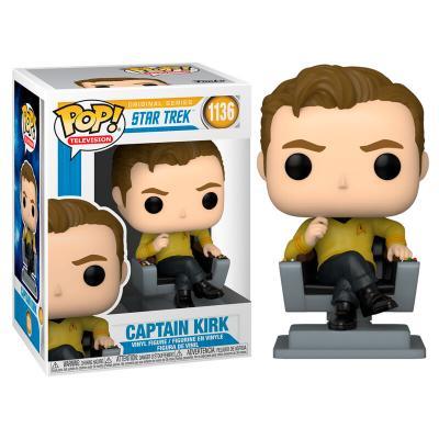 Figura POP Star Trek Captain Kirk in Chair - Imagen 1