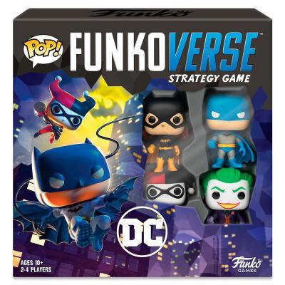 Juego mesa POP Funkoverse DC Comics 4fig Español - Imagen 1