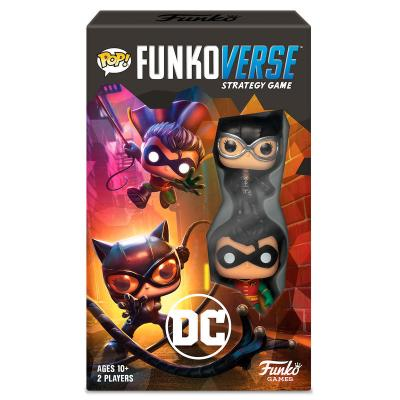 Juego mesa POP Funkoverse DC Comics 2fig Español - Imagen 1