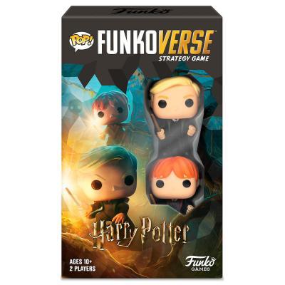Juego mesa POP Funkoverse Harry Potter 2fig Español - Imagen 1