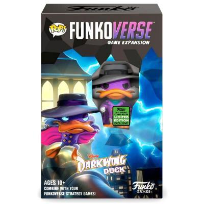 Juego mesa ingles POP Funkoverse Darkwing Duck 1fig - Imagen 1