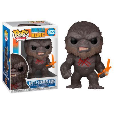 Figura POP Godzilla Vs Kong Battle Scarred Kong - Imagen 1