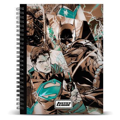 Cuaderno A4 Liga de la Justicia DC Comics - Imagen 1