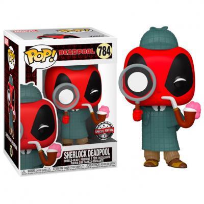 Figura POP Marvel Deadpool 30th Sherlock Deadpool Exclusive - Imagen 1