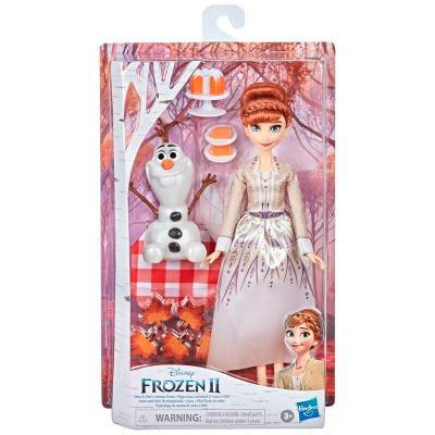Set muñeca Anna y Olaf Picnic de Otoño Frozen 2 Disney - Imagen 1
