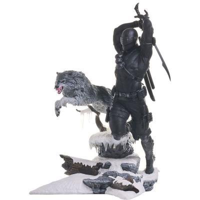 Estatua Gi Joe Gallery Snake Eyes 28cm - Imagen 1