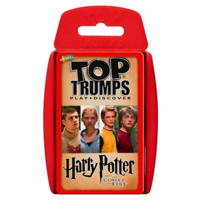Juego cartas Harry Potter y el Caliz de Fuego Top Trumps - Imagen 1