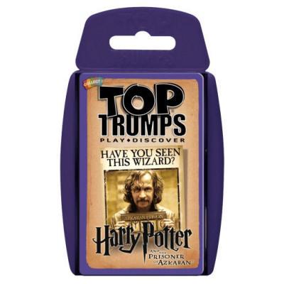 Juego cartas Harry Potter y el Prisionero de Azkaban Top Trumps - Imagen 1