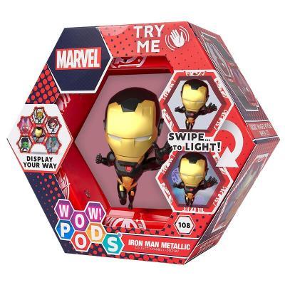 Figura led WOW! POD Iron Man Gold Metallic Marvel - Imagen 1