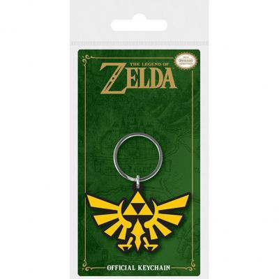 Llavero Triforce The Legend of  Zelda Nintendo 6cm - Imagen 1