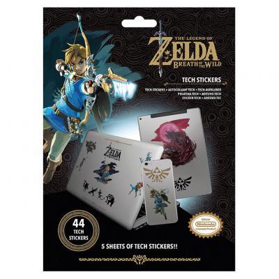 Pegatinas vinilo The Legend of Zelda Nintendo - Imagen 1
