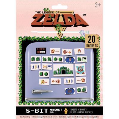 Set 20 imanes The Legend of Zelda - Imagen 1