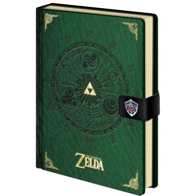Cuaderno A5 premium Triforce The Legend of Zelda - Imagen 1