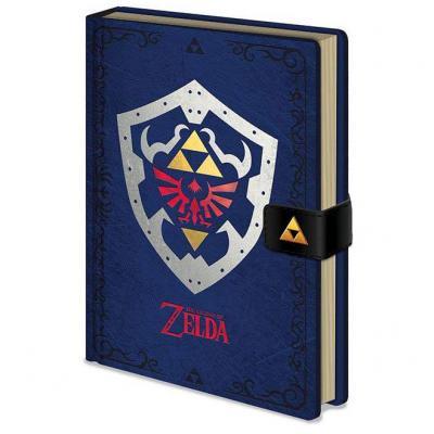 Cuaderno A5 premiun Escudo The Legend of Zelda - Imagen 1