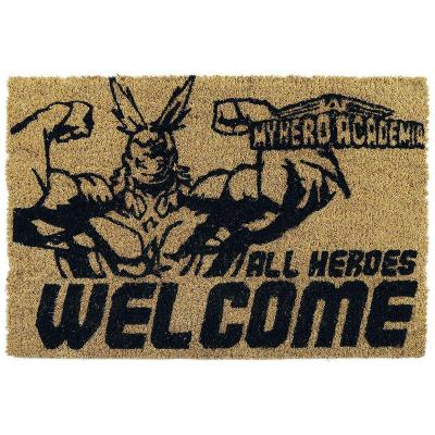 Felpudo All Heroes Welcome My Hero Academia - Imagen 1