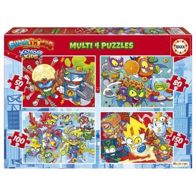 Puzzle Superzings 50-80-100-150pzs - Imagen 1