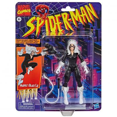 Figura Black Cat Spiderman Marvel 15cm - Imagen 1