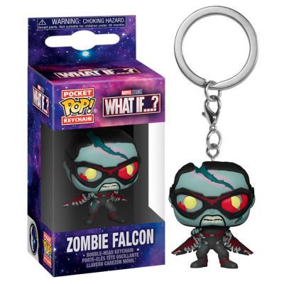 Llavero Pocket POP Marvel What If Zombie Falcon - Imagen 1