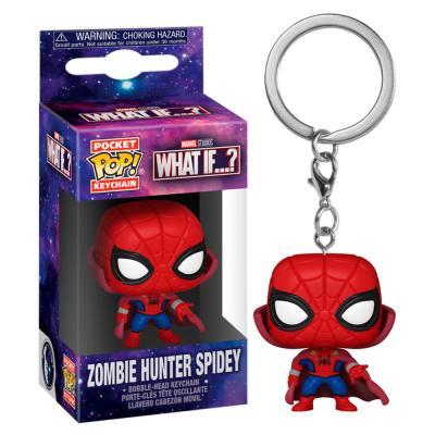 Llavero Pocket POP Marvel What If Zombie Spiderman - Imagen 1