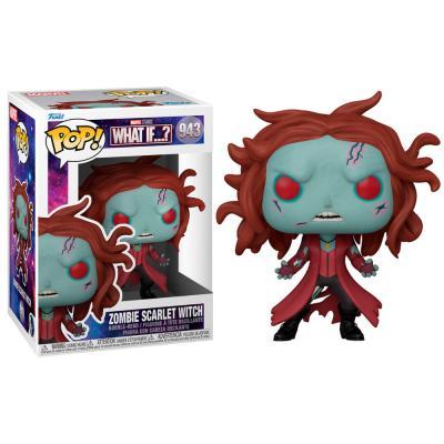 Figura POP Marvel What If Zombie Scarlet Witch - Imagen 1
