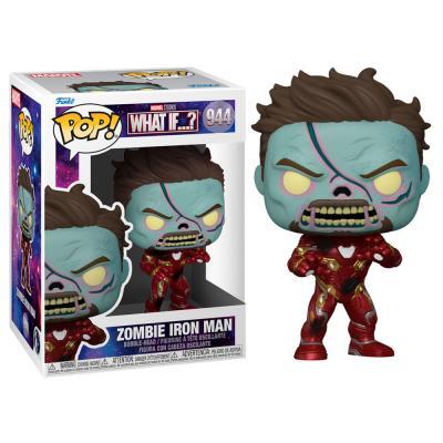Figura POP Marvel What If Zombie Iron Man - Imagen 1