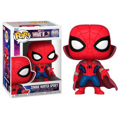 Figura POP Marvel What If Zombie Spiderman - Imagen 1