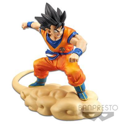 Figura Son Goku Flying Nimbus Hurry Dragon Ball Z 16cm - Imagen 1