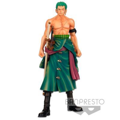 Figura The Roronoa Zoro Master Stars Piece Banpresto Chronicle One Piece 26cm - Imagen 1