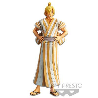 Figura Sanji Wanokuni vol.5 The Grandline Men One Piece 17cm - Imagen 1