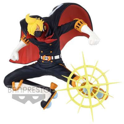 Figura Sanji Osoba Mask Battle Record Collection One Piece 13cm - Imagen 1