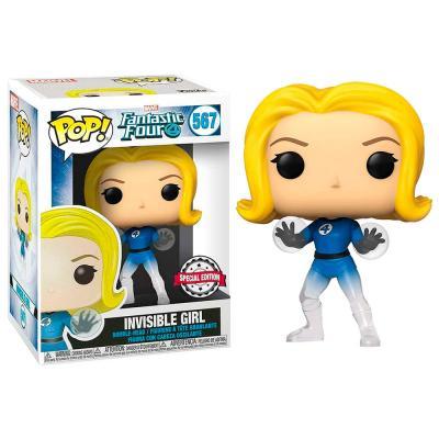 Figura POP Marvel Fantastic Four Invisible Girl Exclusive - Imagen 1
