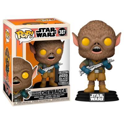 Figura POP Star Wars Chewbacca Exclusive - Imagen 1