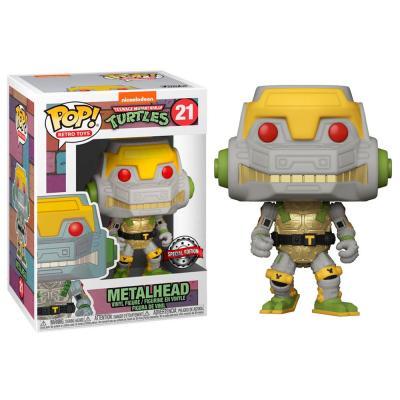 Figura POP Teenage Mutant Ninja Turtles Metalhead Exclusive - Imagen 1