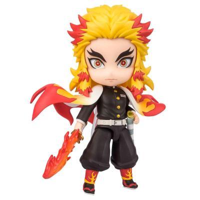 Figura Figuarts Mini Kyojuro Rengoku Flame Breathing Demon Slayer Kimetsu no Yaiba 9cm - Imagen 1