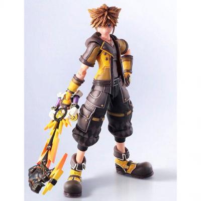 Figura Sora Guard Form Ver. Kingdom Hearts III Bring Arts Disney 16cm - Imagen 1
