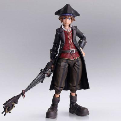 Figura Sora Pirates of the Caribbean Ver. Kingdom Hearts III Bring Arts Disney 15cm - Imagen 1
