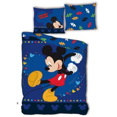 Funda nordica Mickey Disney cama 90cm microfibra - Imagen 1