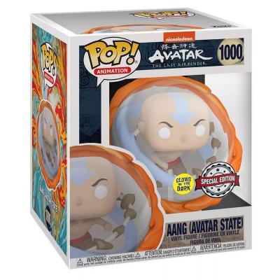 Figura POP Avatar Aang All Elements Glow in the Dark Exclusive - Imagen 1