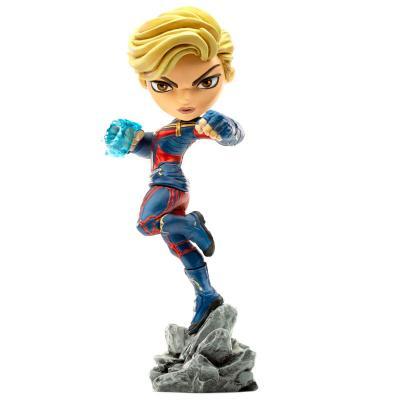 Figura Mini Co Capitana Marvel Vengadores Avengers Endgame Marvel 18cm - Imagen 1