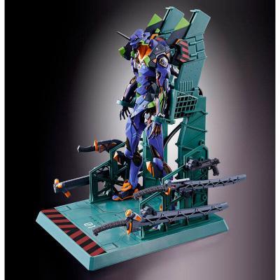Figura Diecast Metal Build EVA-01 Test Type Neon Genesis Evangelion 22cm - Imagen 1