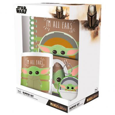 Set regalo Im All Ears Yoda the Child The Mandalorian Star Wars - Imagen 1