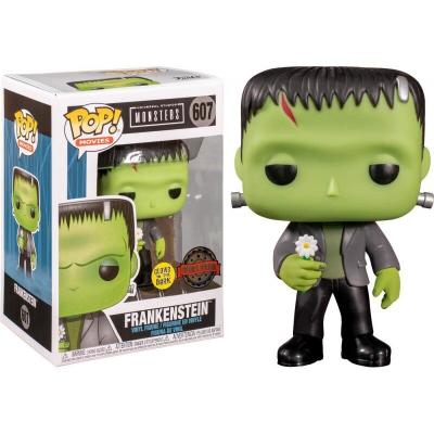 Figura POP Universal Monsters Frankenstein with Flower GW Exclusive - Imagen 1