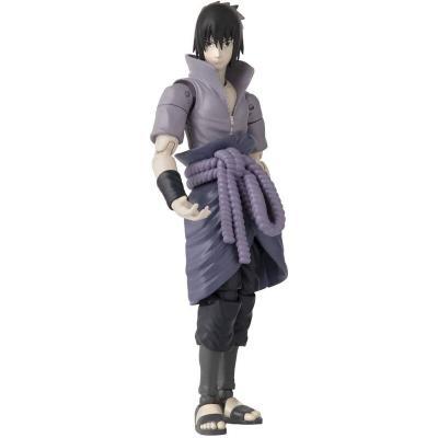 Figura Uchiha Sasuke Anime Heroes Naruto Shippuden 15cm - Imagen 1