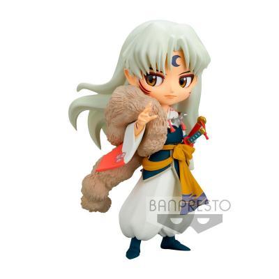 Figura Sesshomaru Inuyasha Q posket ver.B 14cm - Imagen 1