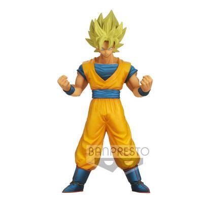Figura Son Goku Burning Fighters Dragon Ball Z 16cm - Imagen 1