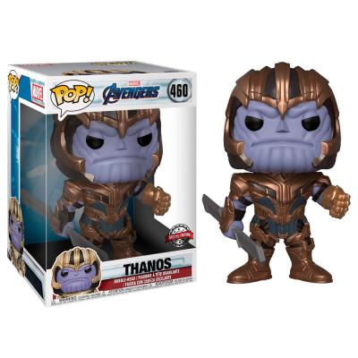 Figura POP Marvel Avengers Endgame Thanos Exclusive 25cm - Imagen 1