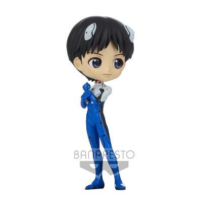 Figura Shinji Ikari Plugsuit Style New Theatrical Edition Evangelion Q posket Ver.A 14cm - Imagen 1